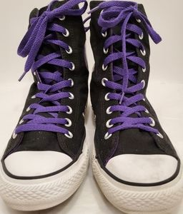 Converse, Chuck Taylor, Purple Canvas, High Top Al